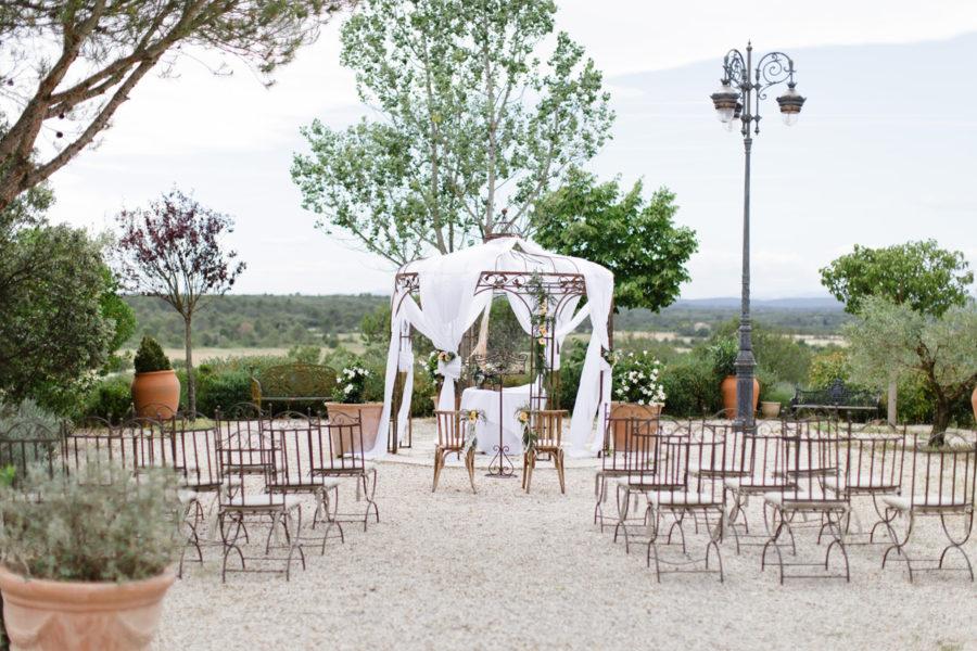 Un mariage champêtre au Domaine de Fontbespierre proche de Nîme Mickael Barbier Photographie
