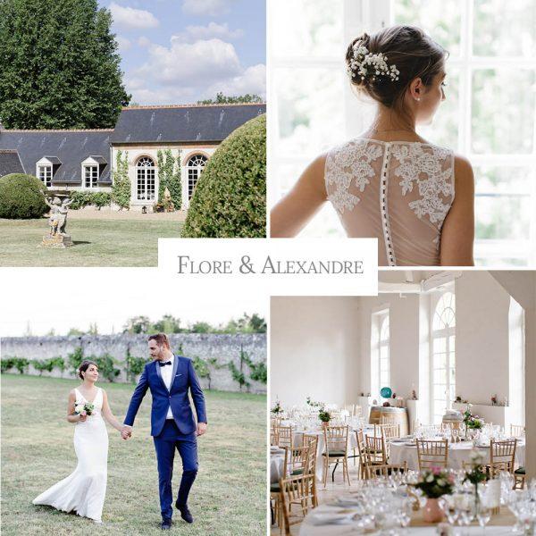 Un mariage élégant proche de Blois