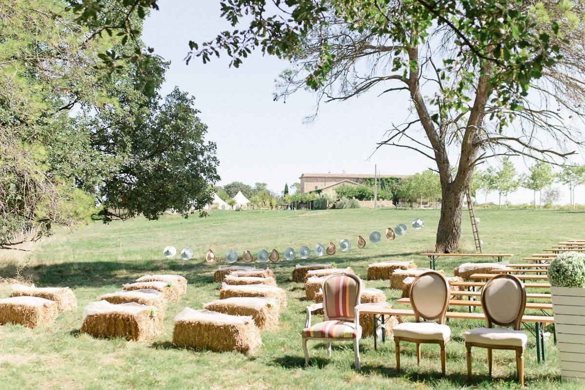 A French vintage wedding between the Provence and the Cévennes