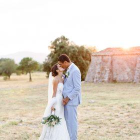 Un mariage vintage proche de Montpellier au Mas de Baumes